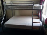 Double + single bunk bed