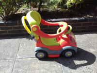 Push Along or Ride on Baby Walker Toy Car