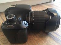 Canon 600D w 18-135mm lens