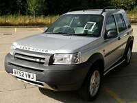 Land Rover Freelander v6i es automatic petrol low miles big service history new MOT