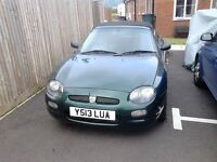 Mgf 1.6 2001 soft top