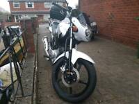 2016 Yamaha YBR 125 with top box. Great condition. Well cared for.