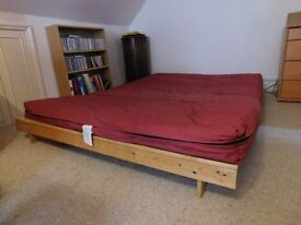 Futon sofa bed in excellent condition. Sturdy and comfortable.