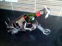 Wine Bottle Holder. Ex. condition.