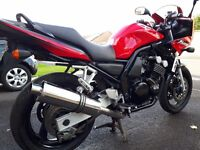 Yamaha FZS600 Fazer. Excellent condition, very low mileage.
