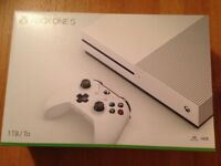 Brand New Sealed Xbox One S 1TB with one controller for Sale