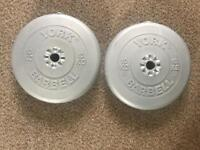 York weights 2 x 10kg