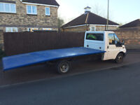 02 plate ford transit lwb recovery truck 16ft body ready for work £2895 ovno