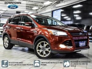 2015 Ford Escape Titanium, Self Park, Pano Roof, Navi, Pwr Trunk