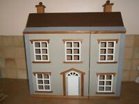 vintage style dolls house