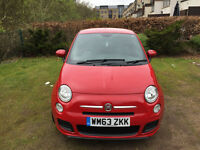 Fiat 500 1.2 S 3dr Hatchback manual red