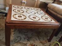 BARGAIN PRICE** Vintage teak coffee table G Plan side retro mid century danish design tile top
