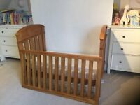 Boori Cot bed and mattress for children- Country Collection from John Lewis