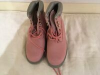 Pink Boots size UK 5 Eu 38
