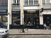 BARBER WANTED , LONDON , CITY