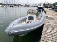 Ribcraft 750 RIB boat with Honda 225hp
