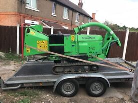 Chipper hire with operator