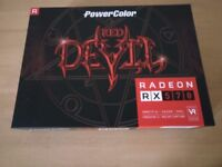 Graphics Card - PowerColor AMD Radeon RX 570 4GB Red Devil Graphics Card