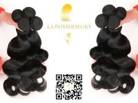 Conhairseurs -100% virgin human hair 8a grade ,brazilian , perivian, malaysian. closures, frontals,