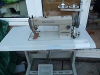 WALKING FOOT INDUSTRIAL HIGHLEAD SEWING MACHINE( Ideal for leather, upholstery, Handbags