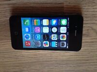 iphone 4, 16 gb, unlocked to all networks,very good working & cosmetic,