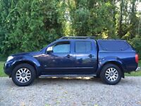 Limited edition Nissan Navara 3.0 v6 automatic outlaw