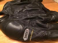 Shoei leathers