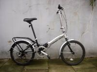 Compact Light Weight Folding/ Commuter Bike by Apollo, Good Condition, JUST SERVICED/ CHEAP PRICE!!!