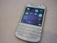Blackberry Q10 White - Vodafone