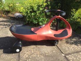 Swivel / Swing Gyro Car