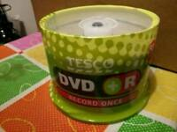 Tesco DVD+R 16x recordable discs