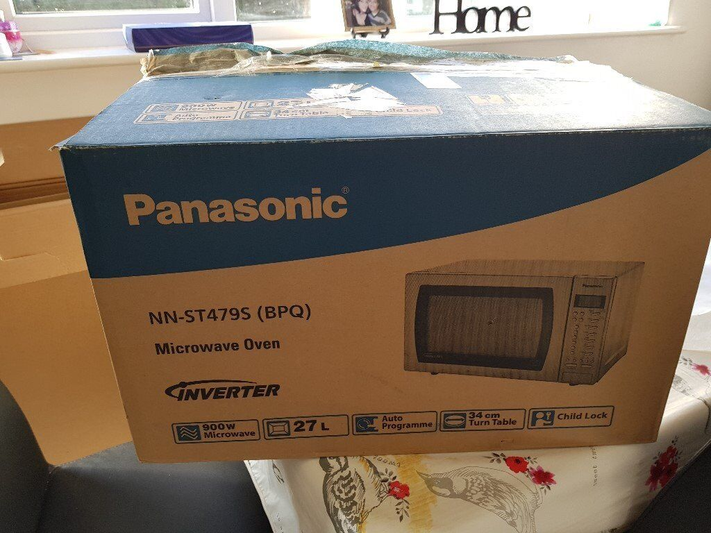 Panasonic Microwave Oven Model Nn St479s In Wollaton