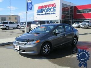 2012 Honda Civic Sdn LX Front Wheel Drive - 58,563 KMs, 1.8L
