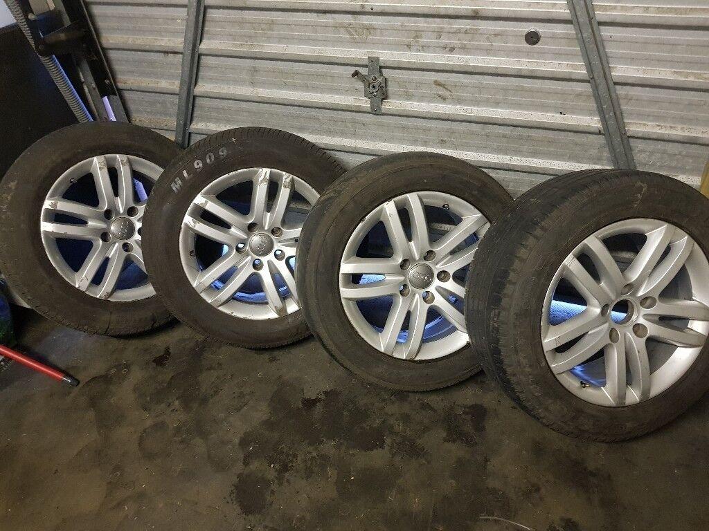 Audi Q7 Genuine Alloy Wheels 18 size
