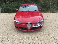Alfa Romeo 147 1.6 T.Spark Lusso 5dr very low miles only 50000 from new