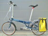 New Dahon Vitesse Folding Bike With Bag & Extras