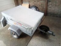 Erde 102 Tipping Trailer little used. In great condition.