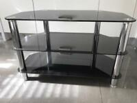 Glass TV and Video Cabinet