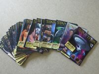 Star Trek Collectors Edition Magazines - Large Collection of 66 Magazines