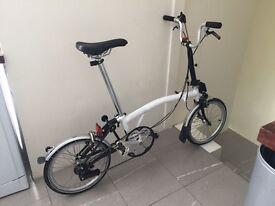 Brompton bicycle - 172 C - 2 speeds - IN EXCELLENT CONDITION