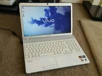 Sony vaio laptop. 4gb ram. 320gb hdd