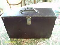 VINTAGE METAL BOX FOR FILES 42CM X 14CM X 27CM