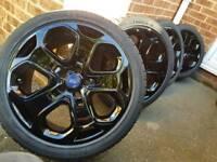 """18"""" mondeo titanium alloy wheels"""