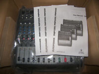 BEHRINGER PMP1000 / PMP-1000 , 500-Watt , 12-Channel Powered Mixer with FX Processor. / Brand New !