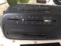 Matsui RTR 203 Radio Cassette Recorder