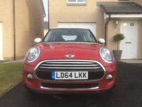 MINI Cooper D Hatch 1.5 Chili > Red & White > Low Mileage > Great Condition > 10 Months Warranty!