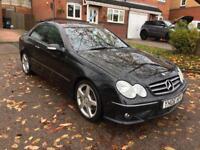 Mercedes clk220 cdi amg