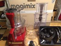 Magimix 3200XL BlenderMix Food Processor, red