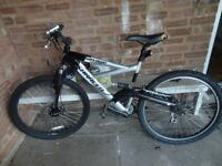 Saracen Savage full suspension men's mountain bike