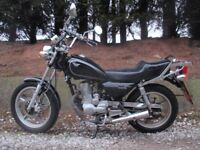 huoniao 125 similar to honda cm 125 great running bike